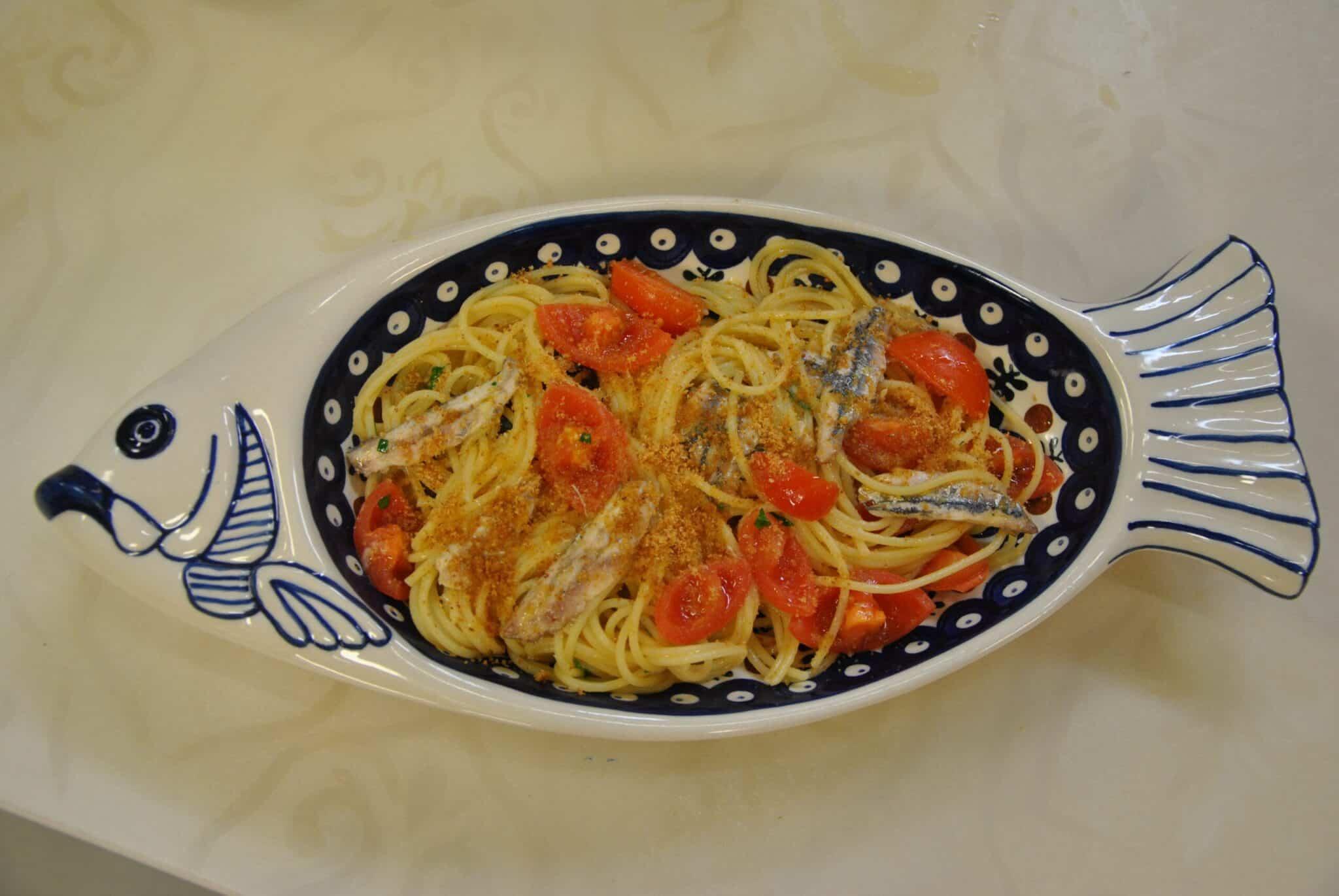 Spaghetti alle acciughe 2