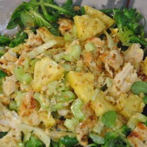 insalata-pollo-ananas