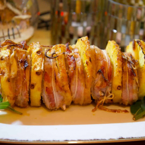 Lonza all'ananas