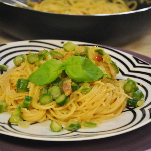 Spaghetti asparagi e bottarga_def
