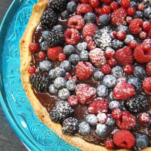 choco-berry-pie